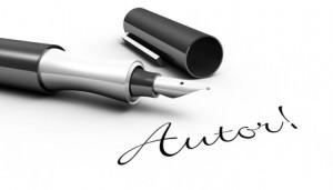 Autor - Stift Konzept